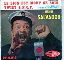 Henri Salvador - Le Lion Est Mort Ce Soir - Dis, Dis, Dis - Twist S.N.C.F. - Twist De L'enrhumé - Salvador 432.736 - Rock