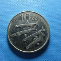 Iceland 10 Kronur 2004 - Island