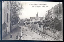 Cpa  Du 22 St Brieuc  Rue Du Lycée   LZ29 - Saint-Brieuc