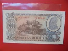 ALBANIE 500 LEKE 1957 PEU CIRCULER (B.6) - Albanie