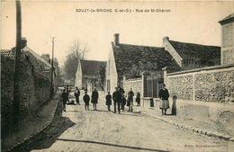 ESSONNE.SOUZY LA BRICHE.  Rue De Saint Chéron - Sonstige Gemeinden