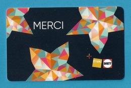 Carte Cadeau FNAC-DARTY.   Gift Card.  Geschenkkarte - Cartes Cadeaux