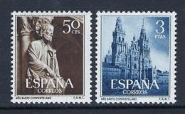 ESPAÑA 1954 AÑO SANTO COMPOSTELANO Nº 1130/1131 - 1931-Hoy: 2ª República - ... Juan Carlos I