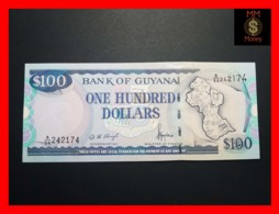 GUYANA 100 DOLLARS P. 31  Sig. 11  UNC - Guyana