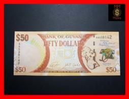 GUYANA 50 DOLLARS 2016 P. 41 *COMMEMORATIVE* UNC - Guyana