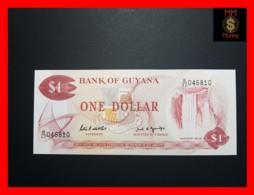 GUYANA 1 DOLLAR P. 21 G  Sig. 7  UNC - Guyana