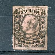 ALLEMAGNE (SAXE) : JEAN 1er - N° Yvert 8 Obli. - Sachsen
