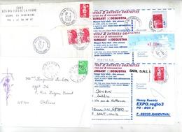 Lot 56 Lettre Cachet à Voir - Marcophilie (Lettres)