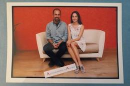 Marie GILLAIN Actrice Belge & Ferzan OZPETEK Réalisateur Turc Photo Presse 1999 CANNES Cinéma Gamma Turquie Belgique - Reproductions