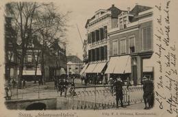 Sneek / Schaapmarktplein 1901 Zeldzaam - Topkaart - Sneek