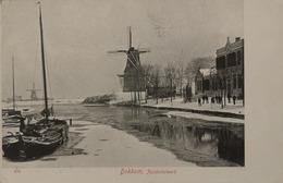 Dokkum // Zuiderbolwerk (Molen Zicht) Ca 1900 Zeldzaam - Topkaart - Dokkum