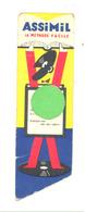 Marque-pages En Relief - ASSIMIL - Disque , Langue,... 3 PIECES  - Signet  (b260) - Marque-Pages