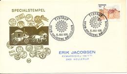 Denmark Cover Scout Scouting Tistrup 6-7-1976 KFUM Spejderne Möllelejren - Scouting