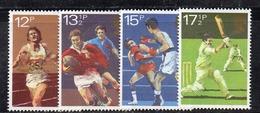 APR2546 - GRAN BRETAGNA 1980 , EII  Unificato Serie 955/958  ***  MNH  (2380A).sport - Nuovi