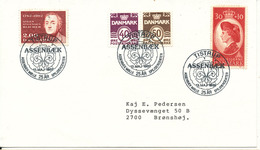 Denmark Cover Scout Scouting Tistrup Assenbæk Mölle 13-5-1989 25 Years Spejdercenter - Scouting