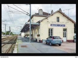 08  AMAGNE  LUCQUY    ....  La Gare Interieure - Altri Comuni