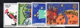 APR2549 - GRAN BRETAGNA 1981 , EII  Unificato Serie 1011/1015  ***  MNH  (2380A). Natale Christmas - 1952-.... (Elisabetta II)