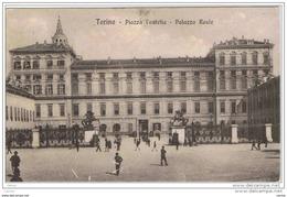 TORINO:  PIAZZA  CASTELLO  -  PALAZZO  REALE  -  FP - Palazzo Reale