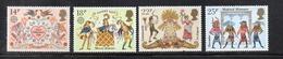 APR2551 - GRAN BRETAGNA 1981 , EII  Unificato Serie 972/973+974/975  ***  MNH  (2380A). Folclore - 1952-.... (Elisabetta II)