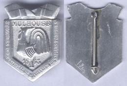 Insigne Du 2e Concours International De Manœuvres De Sapeurs Pompiers De Mulhouse 1963 - Firemen