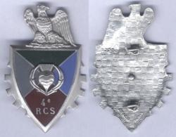 Insigne Du 4e Régiment De Commandement Et De Soutien - Hueste