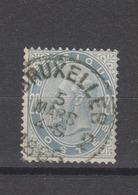 COB 39 Oblitération Centrale BRUXELLES 2 - 1883 Léopold II