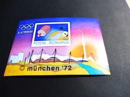 RUMÄNIEN; Olympische Sommerspiele 72, München ** - Blocks & Kleinbögen