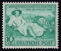 Bizone 108 Goethe 10 Pf. Opalgrün ** Postfrisch - Bizone