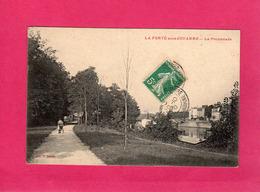 77 Seine Et Marne, La Ferté Sous Jouarre, La Promenade, Animée, Landeau, 1910, (P. Martin) - La Ferte Sous Jouarre