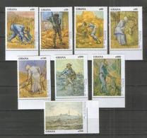 Ghana 1533-40 ** Gemälde , Vincent Van Gogh - Impressionismus