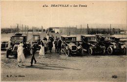 CPA DEAUVILLE - Les Tennis (422463) - Deauville