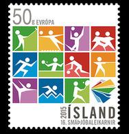 Island Islande 1391 Jeux Des Petits états D'Europe, Judo, Tennis, Basket-ball, Hand-ball, Volley-ball, Escrime, Golf - Tischtennis