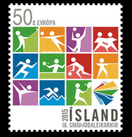 Island Islande 1391 Jeux Des Petits états D'Europe, Judo, Tennis, Basket-ball, Hand-ball, Volley-ball, Escrime, Golf - Table Tennis