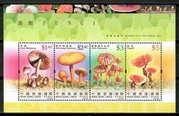Hong Kong 2004 / Mushrooms MNH Setas Pilzen Champignons / Cu14507  40-47 - Hongos