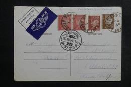 FRANCE - Entier Postal + Compléments De Romans Pour Le Royaume Uni Par Avion Via Lisbonne En 1942 Avec Censure - L 42216 - Postal Stamped Stationery