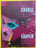 11552 -  1989 Année Du Centenaire De Charlie Chaplin Corsier Suisse - Art