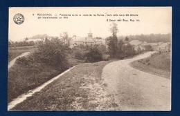 Rossignol. Panorama Vu De La Route Des Bulles. Cette Rue A été Détruite Par Les Allemands En 1914( Reconstruite En 1921) - Tintigny