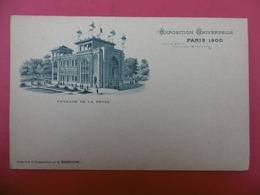 EXPOSITION UNIVERSELLE PARIS 1900 PAVILLON DE LA PERSE - Expositions