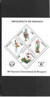 MONACO 2006 BF 93 40EME ANNIVERSAIRE DU CONCOURS INTERNATIONAL DE BOUQUETS  2007 NEUF ** - Blocchi