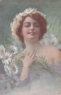 Cartolina - Postcard /   Viaggiata - Sent /  Donnina - Illustratore Guerzoni - Donne