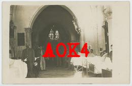 08 Ardennes BERGNICOURT Occupation Allemande Eglise Feldlazarett 405 Warmeriville Tagnon - Altri Comuni