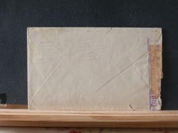 A10/234 LETTRE POUR BARCELONA + VIGNETTE + CENSURE ESP.  1938 - 1932-39 Vrede