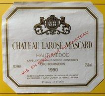 11560 -  Château Larose Mascard 1990 Haut-Médoc - Bordeaux