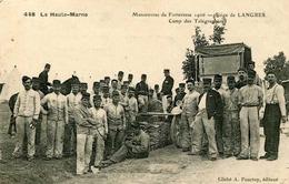 LANGRES = Manoeuvres De Forteresse 1906 = Camp Des Télégraphistes   839 - Langres
