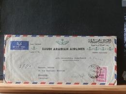A10/238 LETTRE RECOMM. POUR LA BELG. - Arabie Saoudite