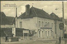 89 Yonne PONT Sur YONNE Hotel E GEOFFROY Hotel Des Voyageurs Restaurent Animée - Pont Sur Yonne