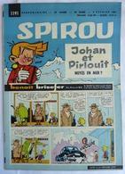SPIROU 1191 (1960) - Avec MINI RECIT 50 - TITAN CONTRE LES MARTIENS - LEMAIRE - Libri, Riviste, Fumetti