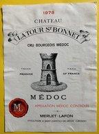 11571 -  Château La Tour St Bonnet 1978 Médoc - Bordeaux
