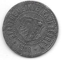 *notgeld Kaufbeuren 10 Pfennig  1918 Zn   6968.3/  F234.3 Rand Glatt - Andere