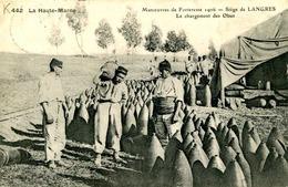 LANGRES = Manoeuvres De Forteresse 1906 = Le Chargement Des Obus   841 - Langres